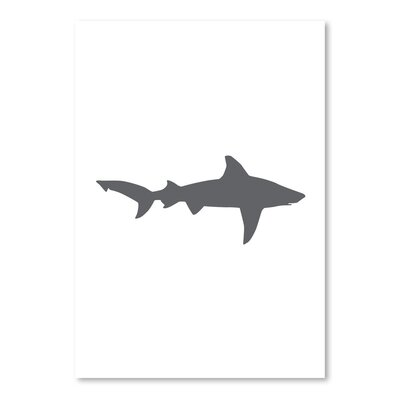 Americanflat 'Grey Shark' by Jetty Printables Graphic Art