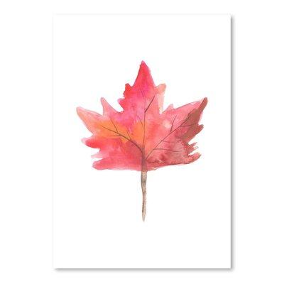 Americanflat 'Leaf 1' by Jetty Printables Art Print