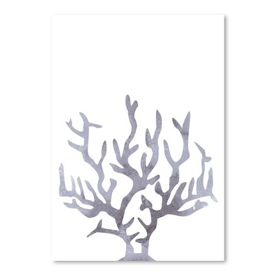 Americanflat 'Grey Coral' by Jetty Printables Graphic Art