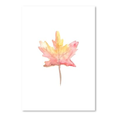 Americanflat 'Watercolour 4 Leaf' by Jetty Printables Art Print