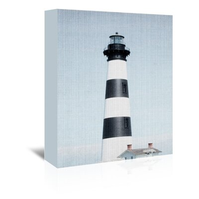 Americanflat 'Light House Striped' by Lila and Lola Photographic Print Wrapped on Canvas