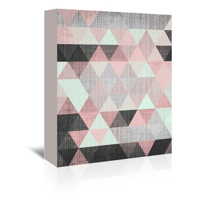 Americanflat 'Geometric Small' by Lila and Lola Graphic Art Wrapped on Canvas