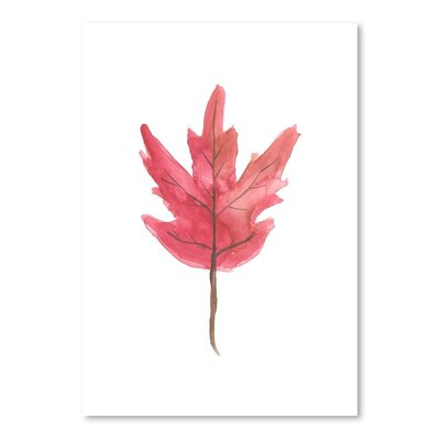 Americanflat 'Leaf 3' by Jetty Printables Art Print