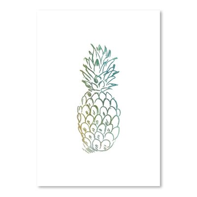 Americanflat 'Faded Pineapple' by Jetty Printables Graphic Art