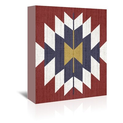 Americanflat 'Geometric Tribal' by Lila and Lola Graphic Art Wrapped on Canvas