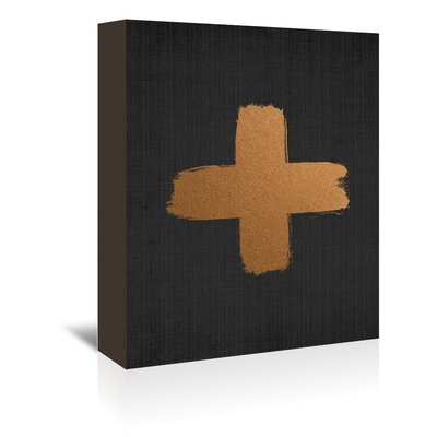 Americanflat 'Cross 2' by Lila and Lola Art Print Wrapped on Canvas