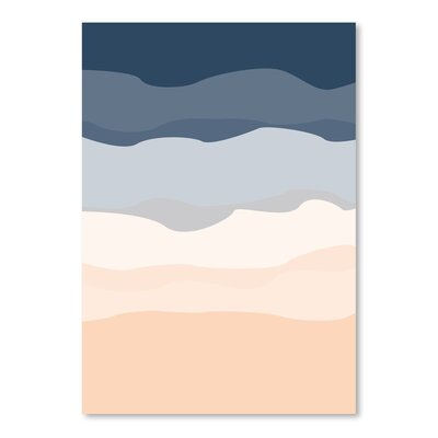 Americanflat 'Abstract' by Jetty Printables Graphic Art in Blue