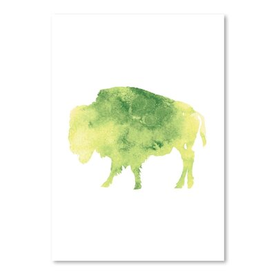 Americanflat 'Watercolour 2 Buffalo' by Jetty Printables Graphic Art
