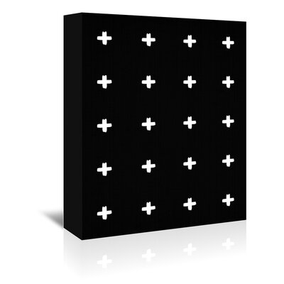 Americanflat 'Crosses' by Lila and Lola Graphic Art Wrapped on Canvas
