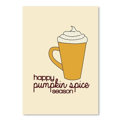 Americanflat 'Pumpkin Spice' by Jetty Printables Graphic Art