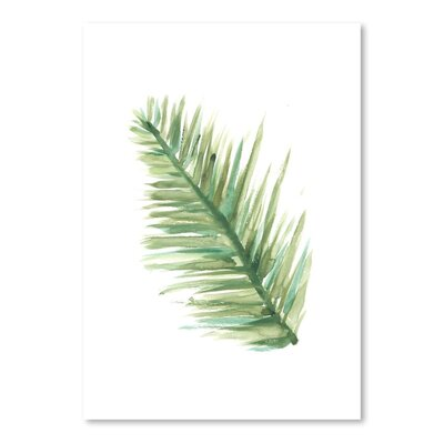 Americanflat 'Watercolour Palm 1' by Jetty Printables Graphic Art