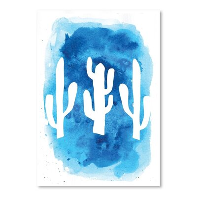 Americanflat Watercolour Cactus' by Marco Fabiano Graphic Art