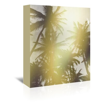 Americanflat 'Trees in Paradise' by Lila and Lola Photographic Print Wrapped on Canvas