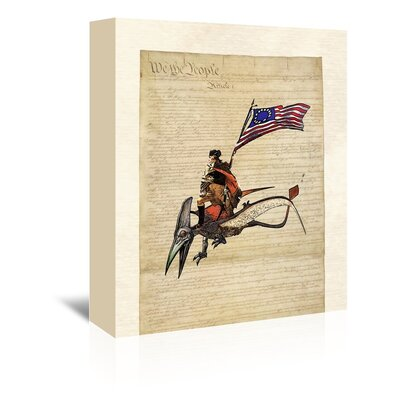 Americanflat 'Washington' by Matt Dinniman Graphic Art Wrapped on Canvas