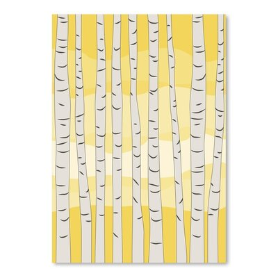 Americanflat 'Birch Trees' by Jetty Printables Graphic Art