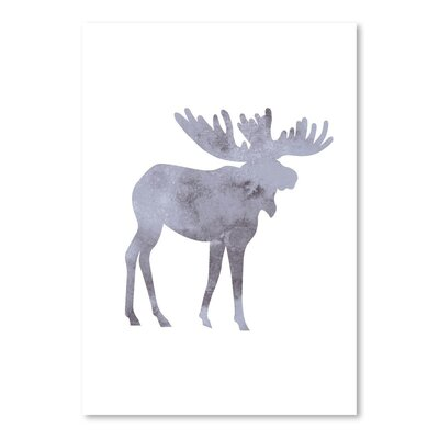 Americanflat 'Watercolour Moos' by Jetty Printables Graphic Art