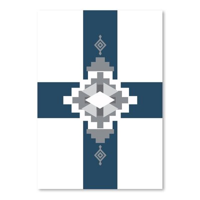 Americanflat 'South Western Cross' by Jetty Printables Graphic Art