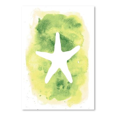 Americanflat 'Background Starfish' by Jetty Printables Graphic Art
