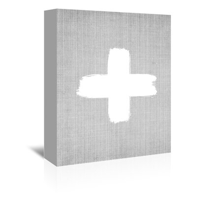 Americanflat 'Cross' by Lila and Lola Graphic Art Wrapped on Canvas