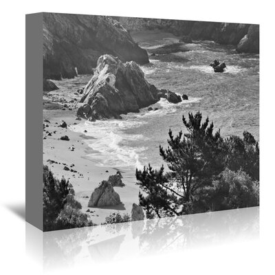 Americanflat 'Pacific Ocean Seascape 52' by Murray Bolesta Photographic Print Wrapped on Canvas