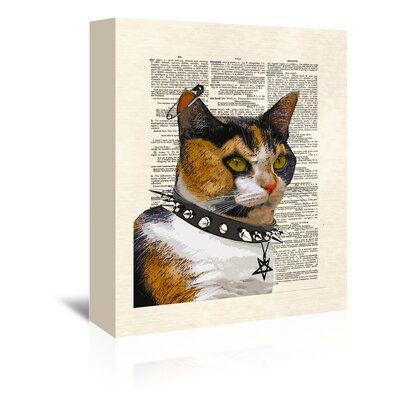 Americanflat Lucipurr' by Amy Brinkman Graphic Art Wrapped on Canvas