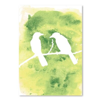 Americanflat 'Watercolour Birds' by Jetty Printables Graphic Art