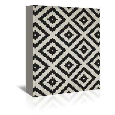 Americanflat 'Geometric Squares' by Lila and Lola Graphic Art Wrapped on Canvas