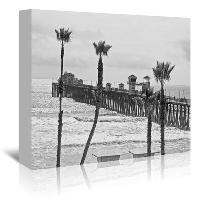 Americanflat 'Oceanside Pier 8' by Murray Bolesta Photographic Print Wrapped on Canvas
