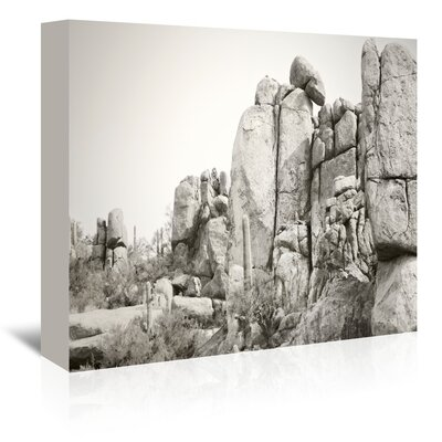 Americanflat 'Rock Wall' by Murray Bolesta Photographic Print Wrapped on Canvas