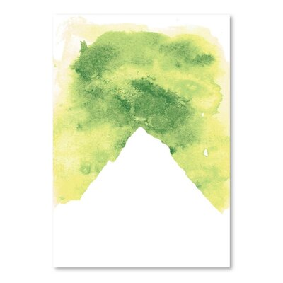 Americanflat 'Watercolour Mountain' by Jetty Printables Graphic Art