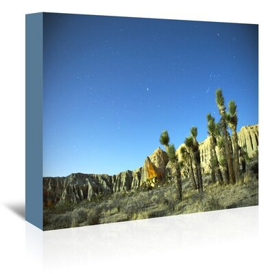 Americanflat 'Death Valley Moon Glow 2' by Murray Bolesta Photographic Print Wrapped on Canvas