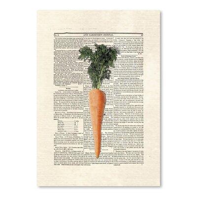 Americanflat 'Carrots' by Matt Dinniman Graphic Art