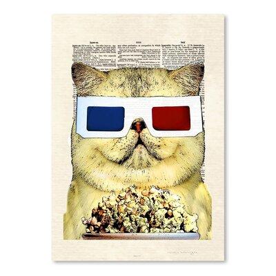 Americanflat 'Fatcat' by Matt Dinniman Graphic Art