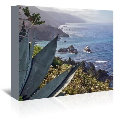 Americanflat 'Pacific Ocean Seascape 56' by Murray Bolesta Photographic Print Wrapped on Canvas