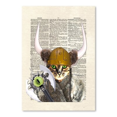 Americanflat 'Catseye' by Matt Dinniman Graphic Art