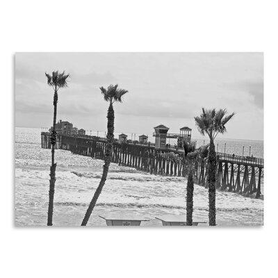 Americanflat 'Oceanside Pier 8' by Murray Bolesta Photographic Print