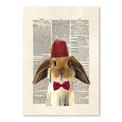 Americanflat 'Lop Bunny' by Matt Dinniman Graphic Art