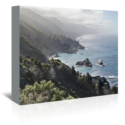Americanflat 'Pacific Ocean Seascape 55' by Murray Bolesta Photographic Print Wrapped on Canvas