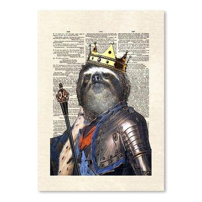 Americanflat 'Sloth King' by Matt Dinniman Graphic Art