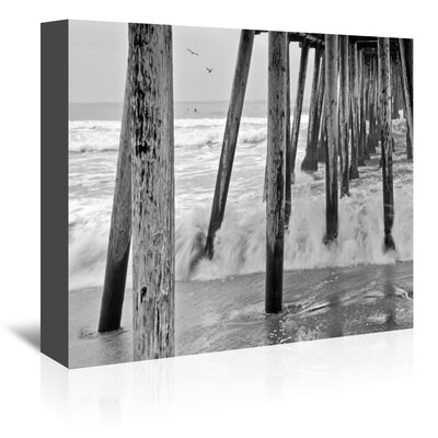 Americanflat 'Imperial Beach Pier 1' by Murray Bolesta Photographic Print Wrapped on Canvas