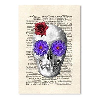 Americanflat 'Sugar Skull' by Matt Dinniman Graphic Art