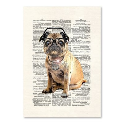 Americanflat 'Pug DMC' by Matt Dinniman Graphic Art