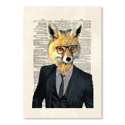 Americanflat 'Fox Suit' by Matt Dinniman Graphic Art