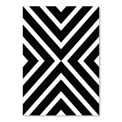 Americanflat 'Geometric' by Lila and Lola Graphic Art
