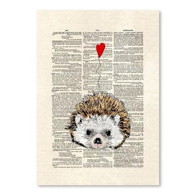 Americanflat 'Hedgehog' by Matt Dinniman Graphic Art