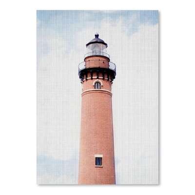 Americanflat 'Light House Coral' by Lila and Lola Photographic Print