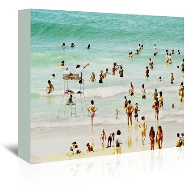 Americanflat 'French Beach' by Murray Bolesta Photographic Print Wrapped on Canvas