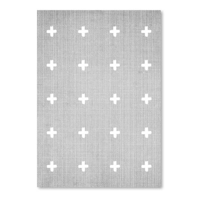 Americanflat 'Crosses' by Lila and Lola Graphic Art