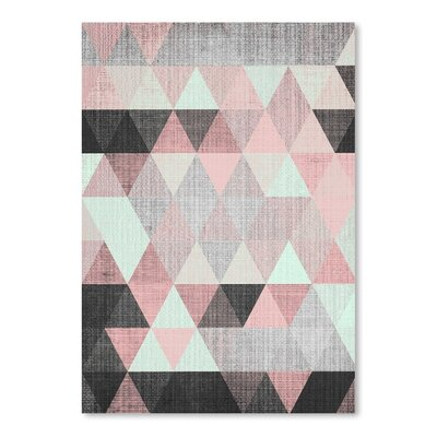 Americanflat 'Geometric Small' by Lila and Lola Graphic Art
