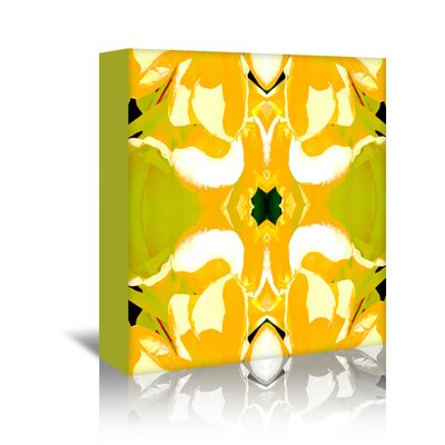 Americanflat 'Lemon Canna' by Rose Anne Colavito Graphic Art Wrapped on Canvas